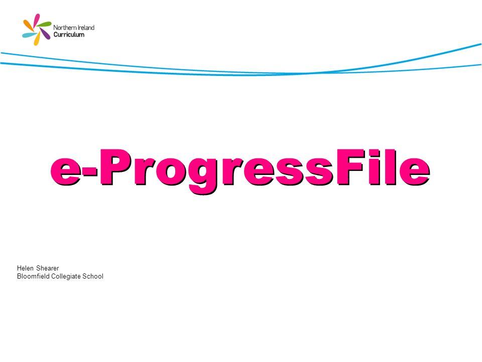 e-ProgressFile Helen Shearer Bloomfield Collegiate School