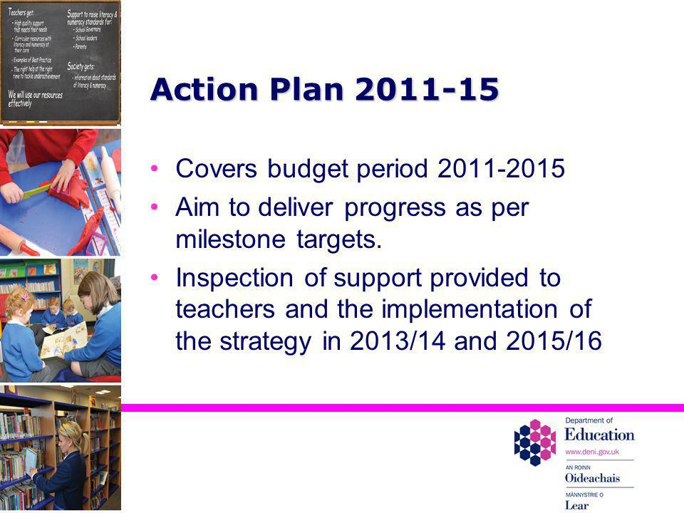 Action Plan 2011-15 Covers budget period 2011-2015