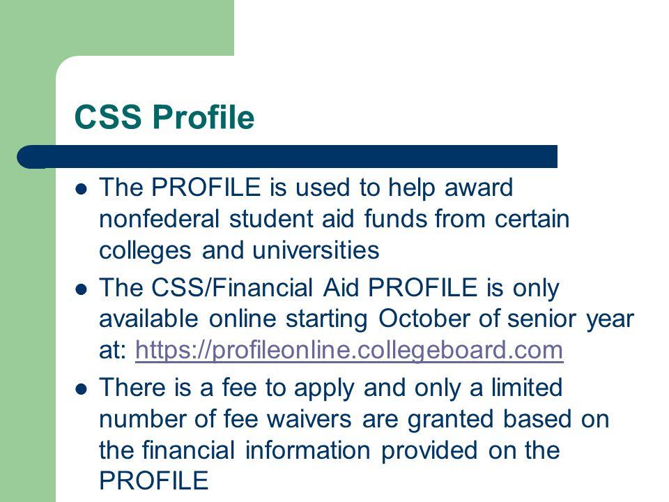 Css profile pre application worksheet pdf