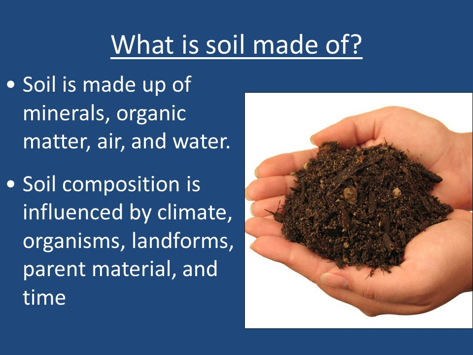 Chapter 12 soil and agriculture ppt video online download for What are soil minerals