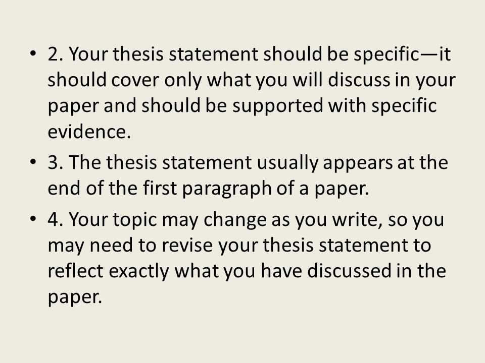 how to write a thesis statement for a history research paper Thesis and purpose statements organization of your paper thesis statements a thesis statement is a purpose statements are common in research papers.