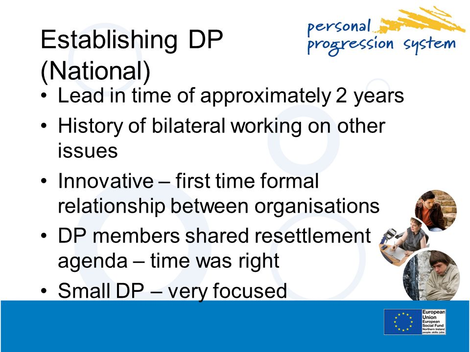 Establishing DP (National)