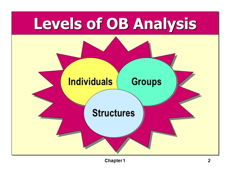 an analysis of behavior in groups Factors that influence individual and group dynamics  of analysis, organizational behavior involves the  the group behavior formations of groups may.