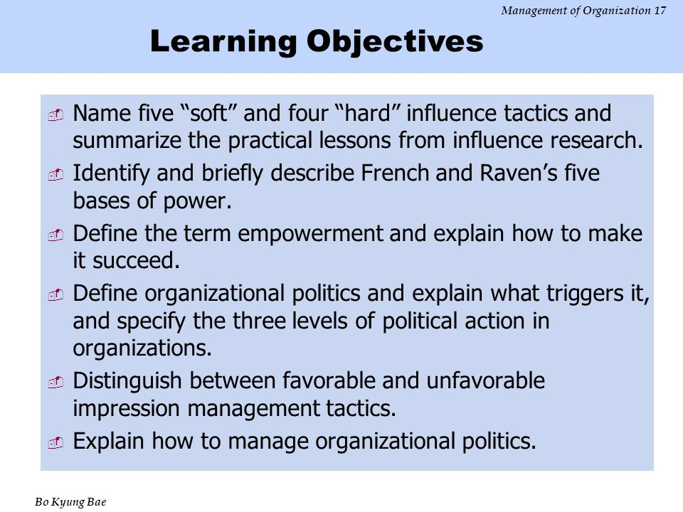 briefly describe french and raven s five bases of power Field studies of french and raven's bases of power: critique, reanalysis and suggestions january 30) 5 sources of power in organizations small business - chroncom five functions of management & leading.