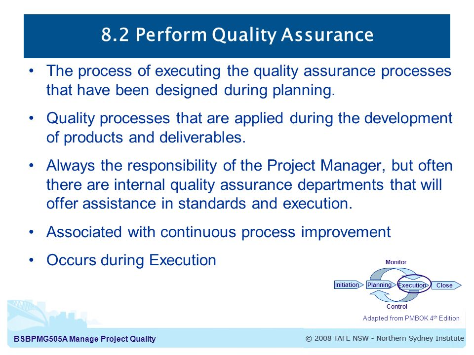 Quality Assurance vs Quality Control - ppt download