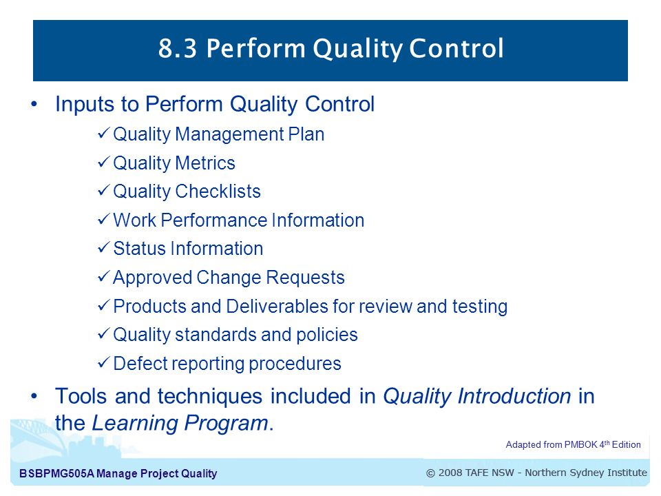 Quality Assurance Vs Quality Control Ppt Download