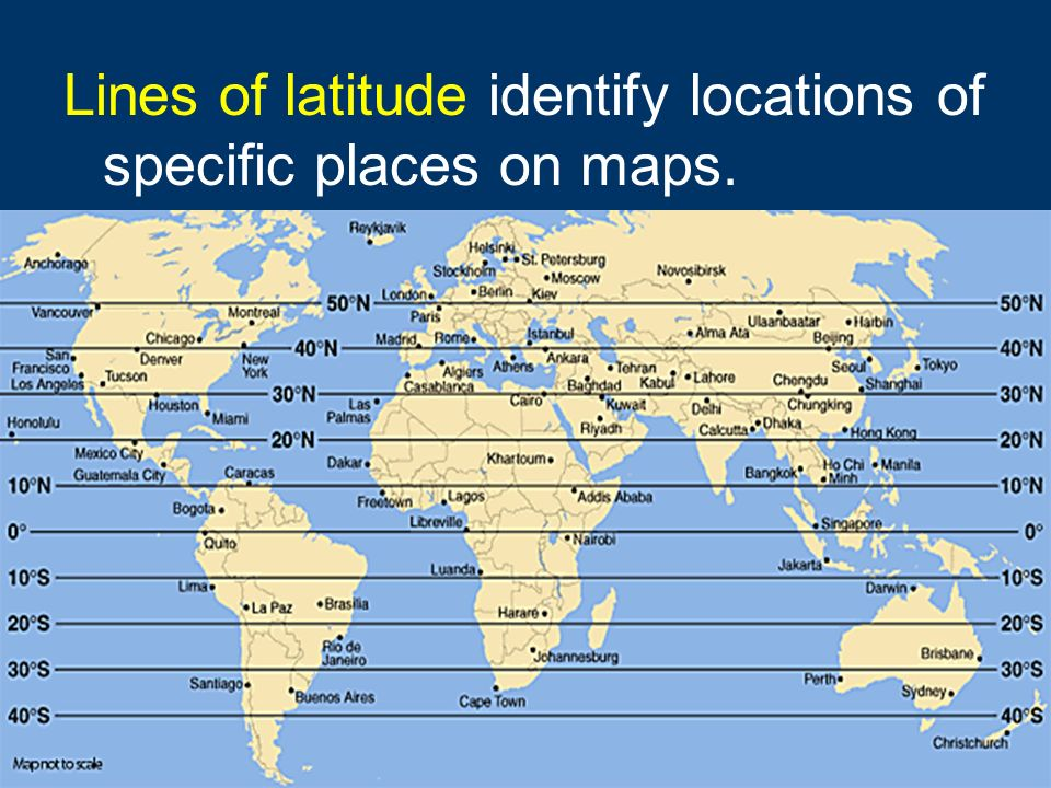 map with latitude