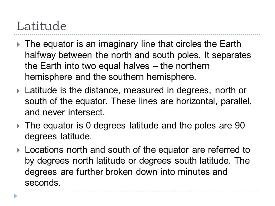 how to find latitude minutes and seconds
