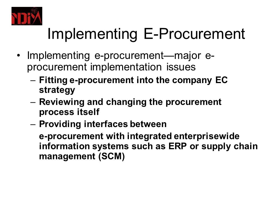 implementation of supply chain management Supply chain implementation in a global environment 7th annual global supply chain management program arizona state university april, 1999 a s s o c i a t e s.