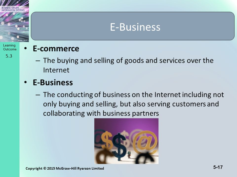 E-Business E-commerce E-Business