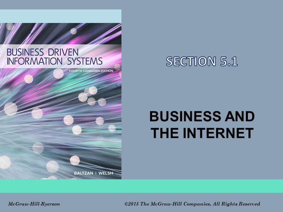 BUSINESS AND THE INTERNET