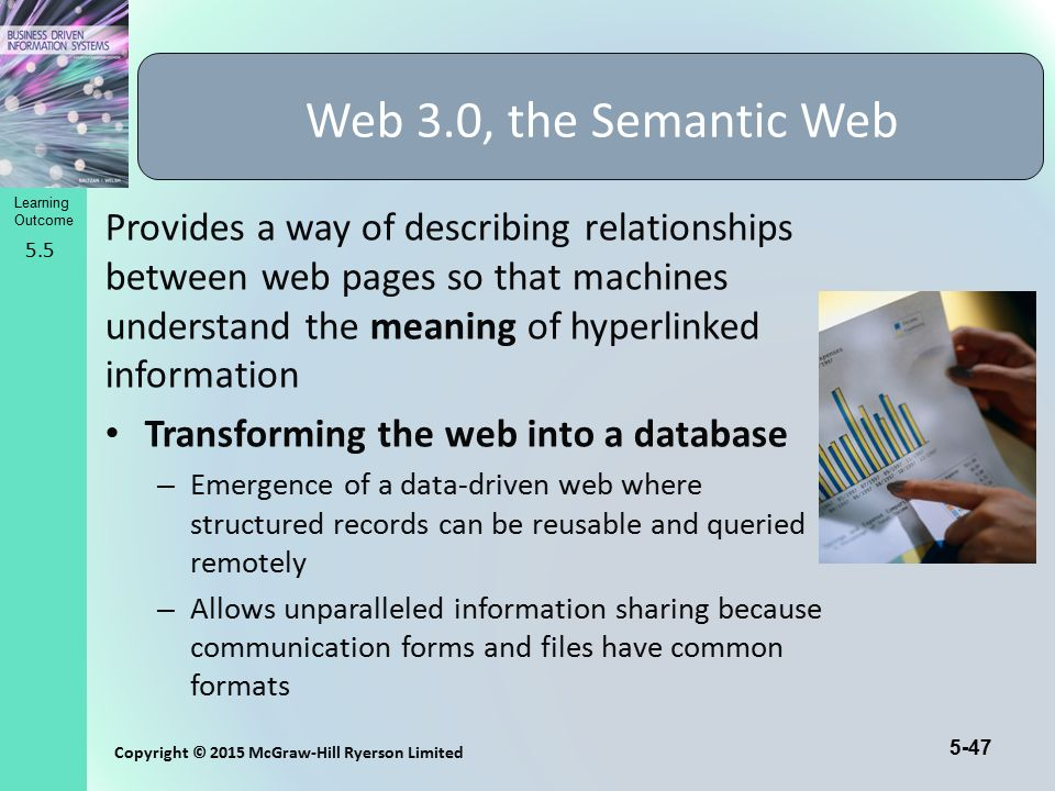 Web 3.0, the Semantic Web