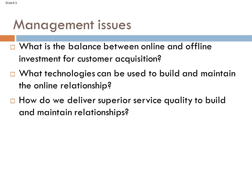 relationship between customer requirements and quality management