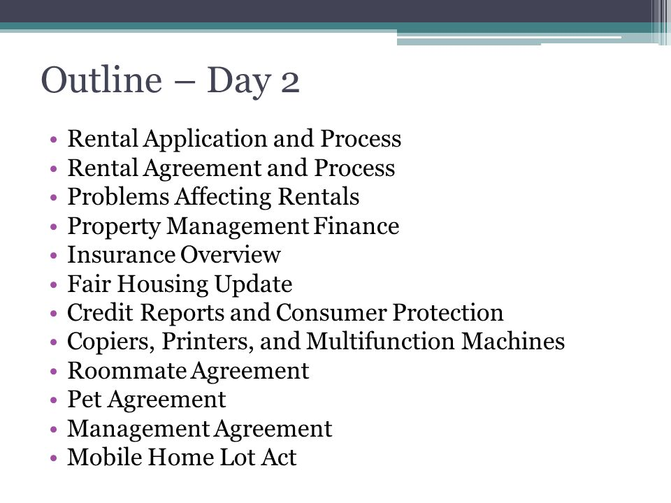 Principles Of Property Management - Ppt Download