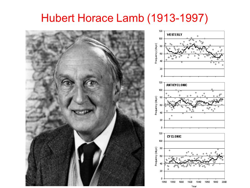 Hubert Horace Lamb (1913-1997)