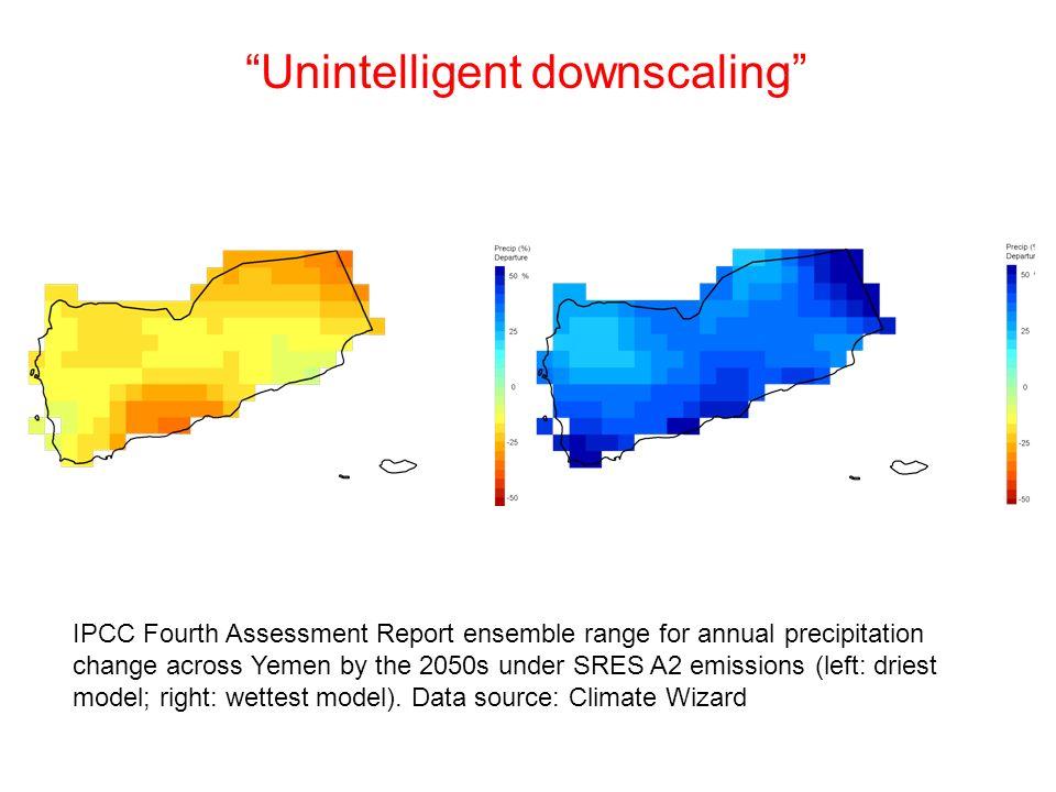 Unintelligent downscaling