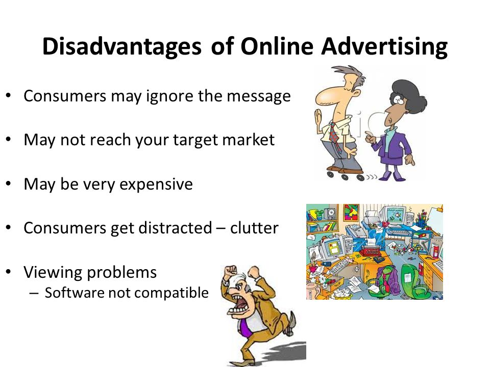 advantages and disadvantages advertising Media advantages and disadvantages tammy algood agriculture marketing specialist tennessee department of agriculture  radio advantages mostly local.
