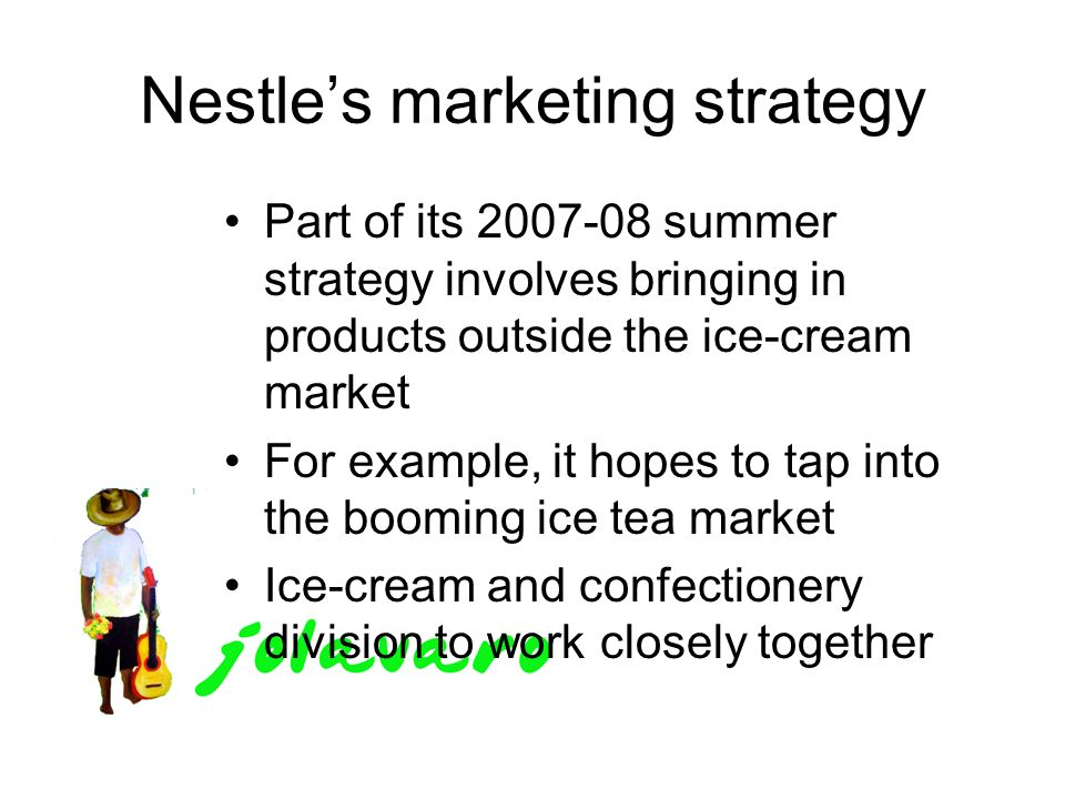 ice cream wars nestle vs unilever Wars, changing consumer  and the world's largest maker of ice cream unilever is a dual-listed company consisting of unilever nv in   nestle has a verity.