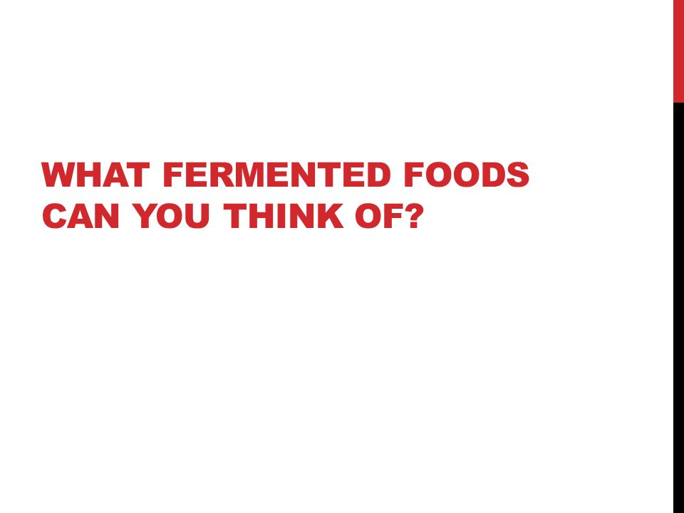 Why Is It Important To Eat Fermented Foods