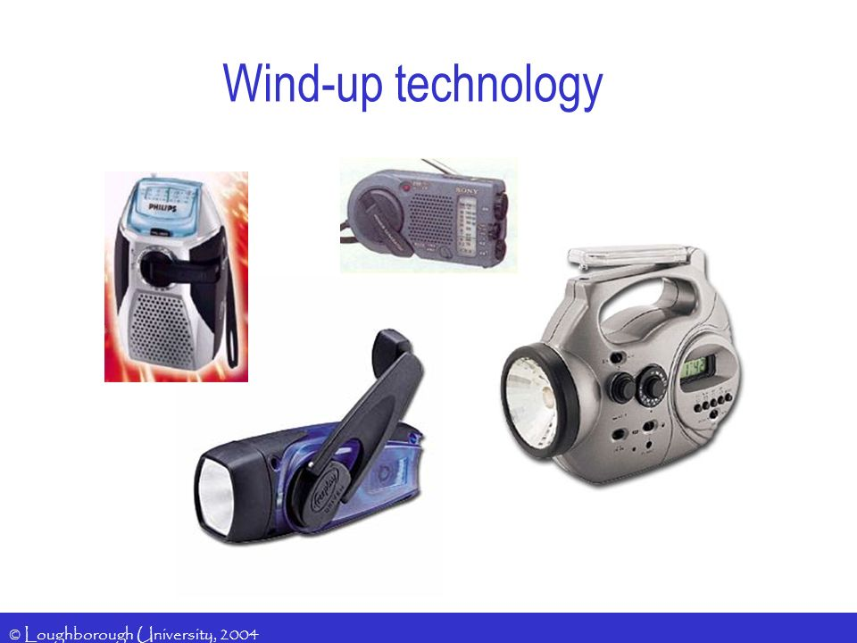 Wind-up technology