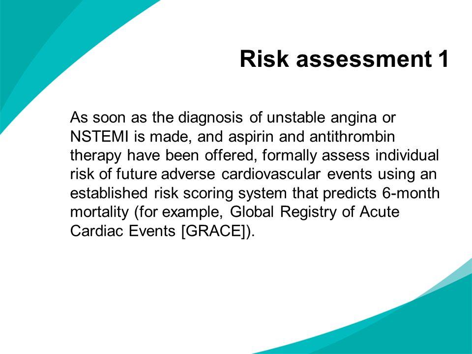 Risk assessment 1