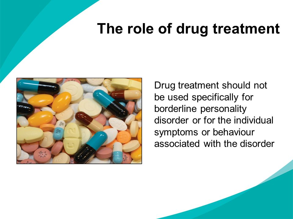 The role of drug treatment