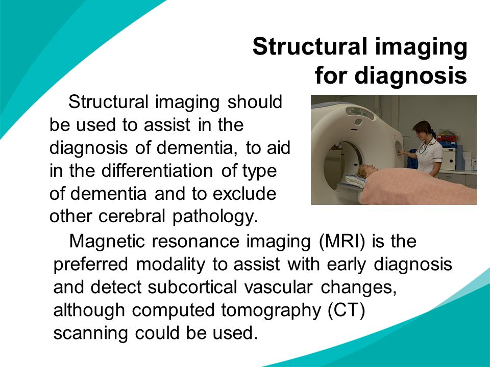 Structural imaging for diagnosis