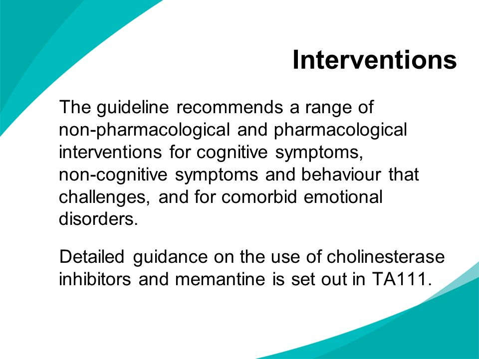 pharmacological treatment and interventions of mental health Non-pharmacological treatment biological interventions and journalist and author bob whitaker distills the latest in pharmaceutical and mental health.