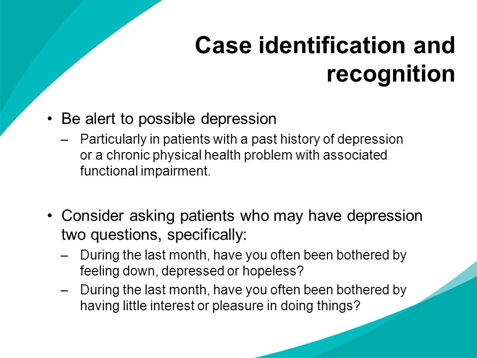 Case identification and recognition