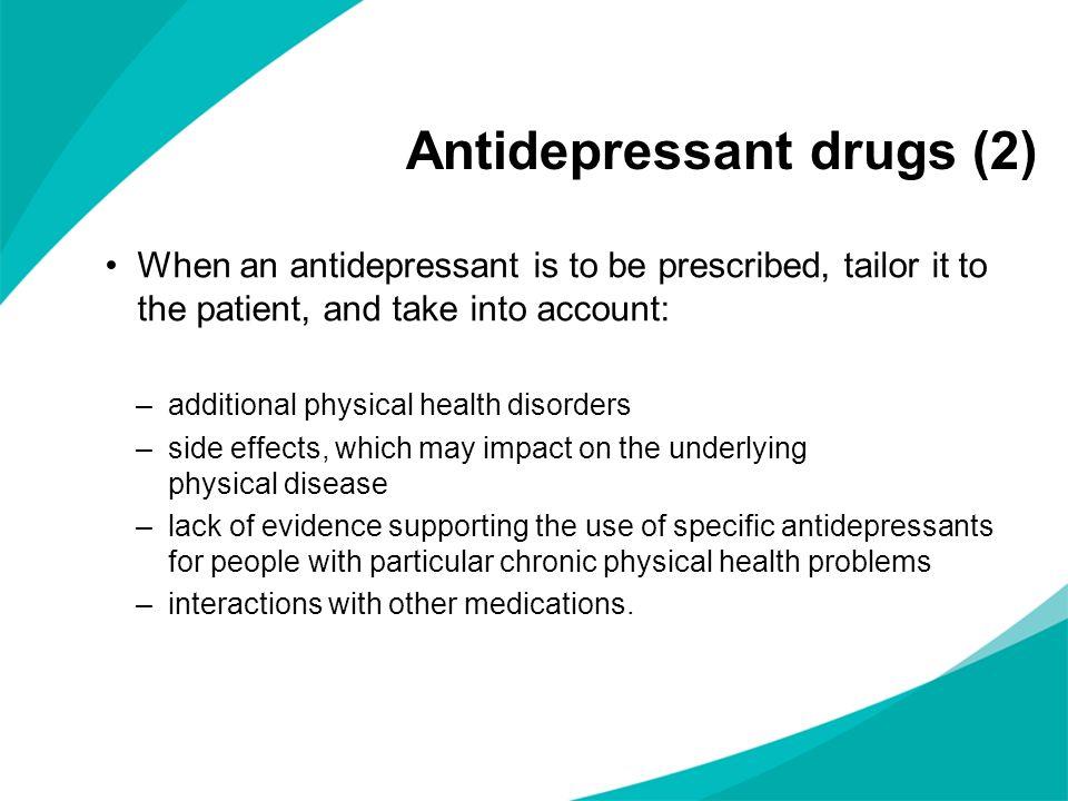 Antidepressant drugs (2)