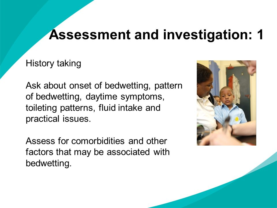 Assessment and investigation: 1