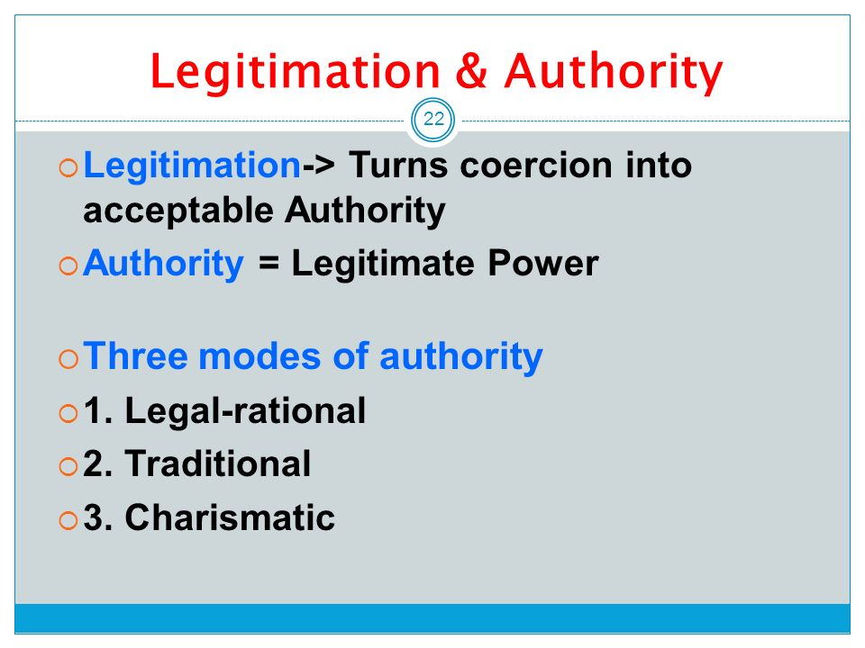 """the legitimate authority theory essay Legitimacy theory essay it can instead be inferred from the fact that being legitimate """"enables organizations to legitimacy theory offers."""