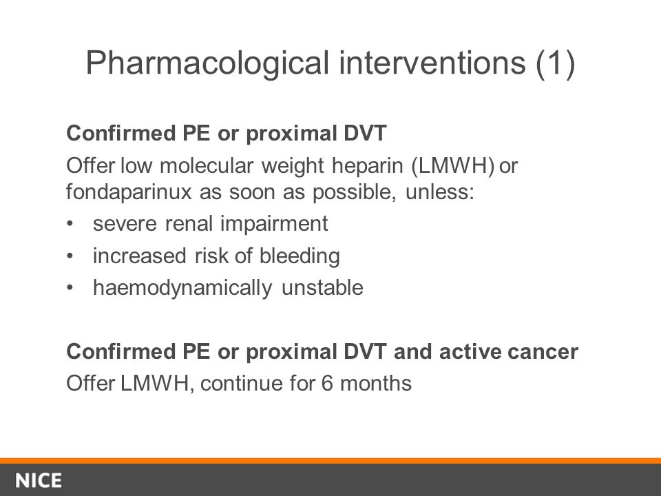 Pharmacological interventions (1)