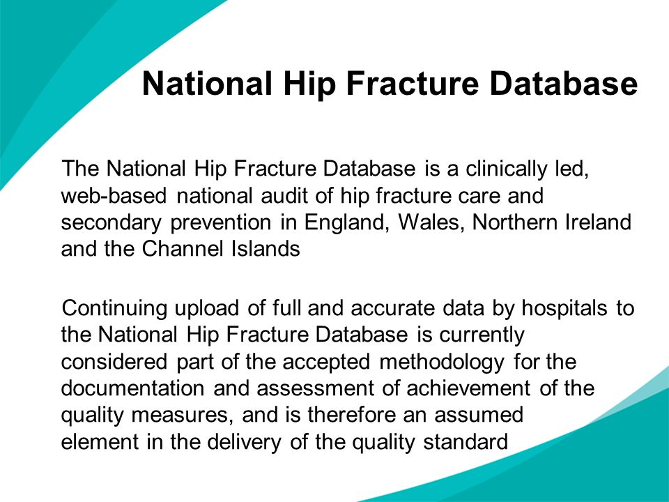 National Hip Fracture Database