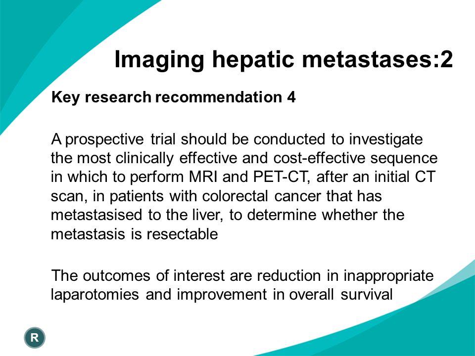 Imaging hepatic metastases:2