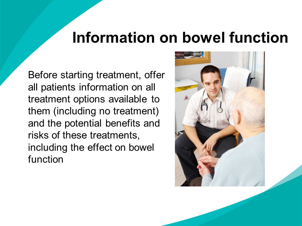 Information on bowel function