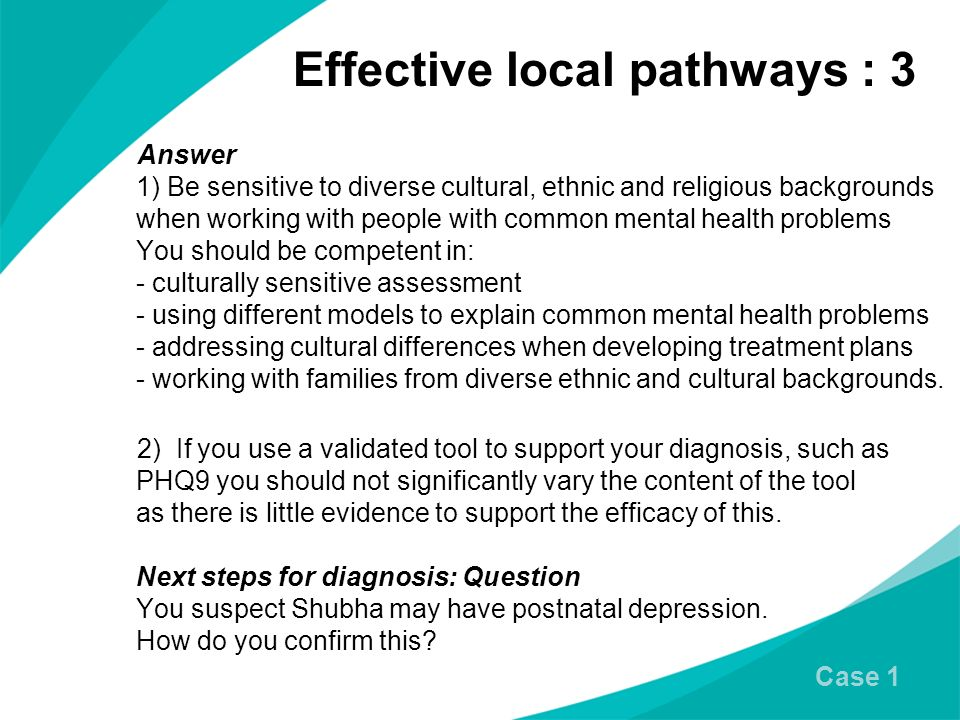 Effective local pathways : 3