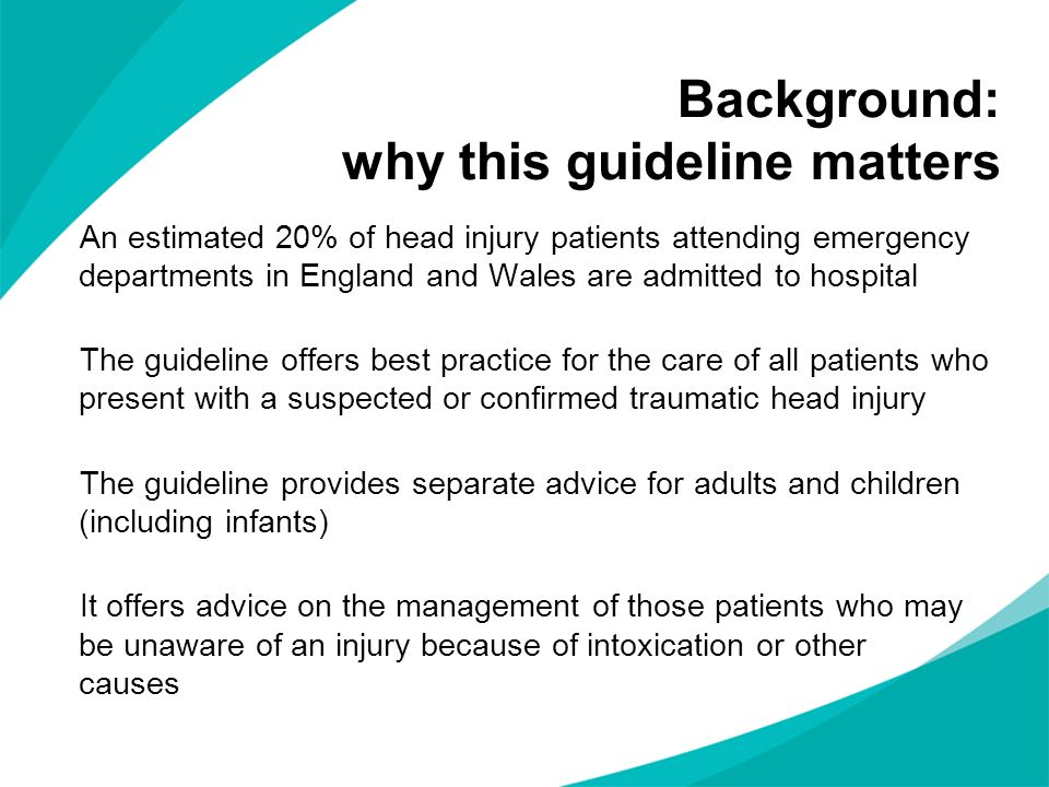 Background: why this guideline matters