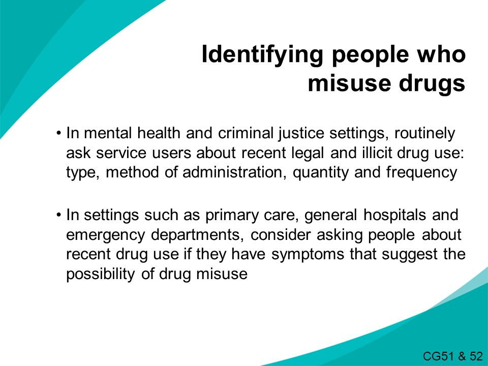 Identifying people who misuse drugs