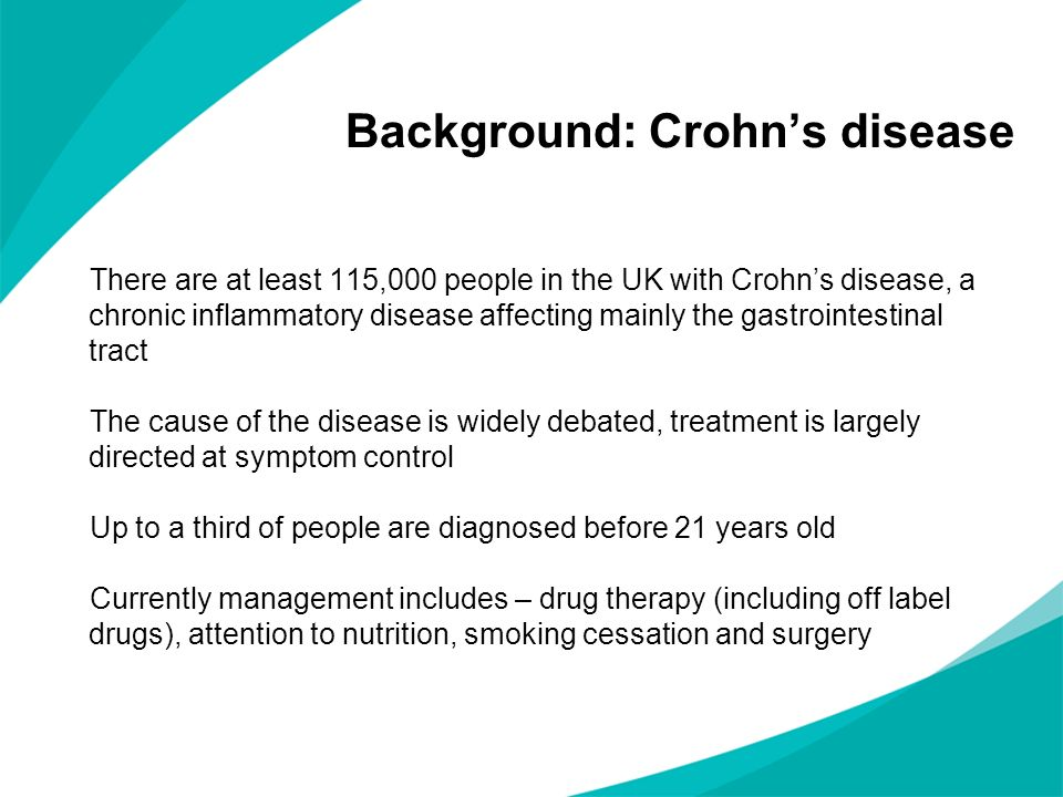 Background: Crohn's disease
