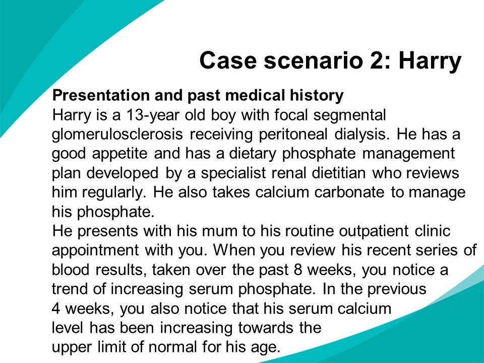 Case scenario 2: Harry