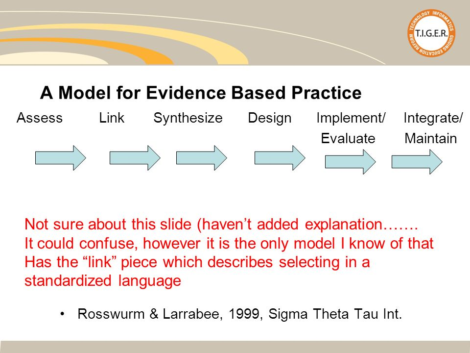rosswurm and larrabee Rosswurm and larrabee model reducing falls in outpatients: evaluation of fall risk assessment and identification of fallers katherine pendleton.