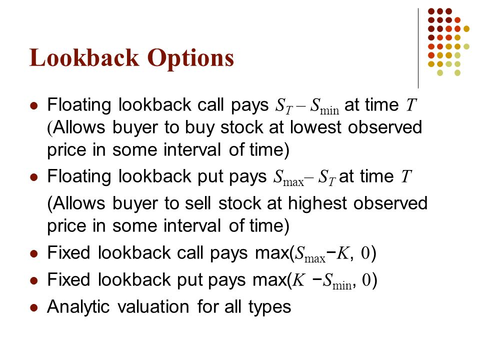 Best time to buy stock options