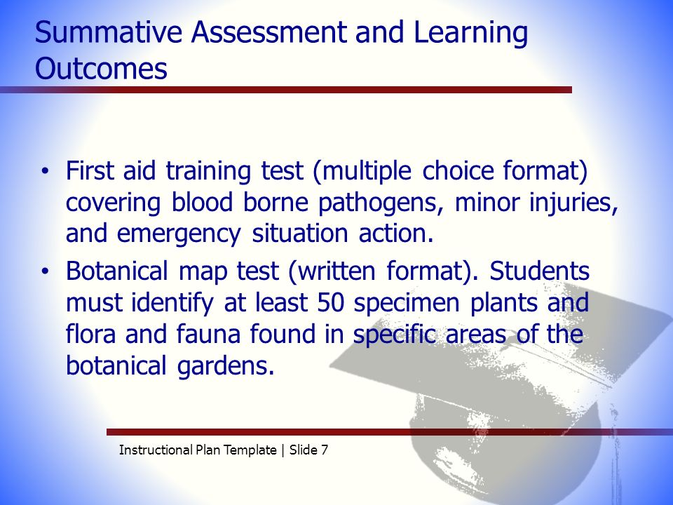 aet 515 instructional plan template elizabeth andrews ppt video