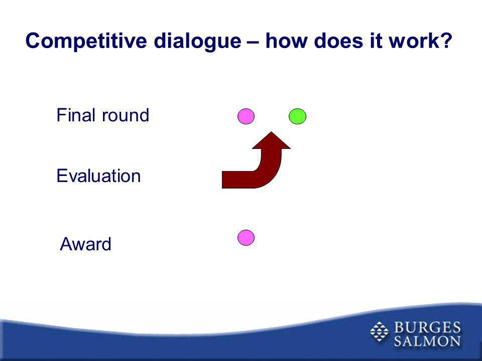 Competitive dialogue – how does it work