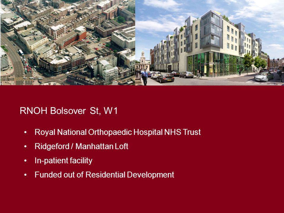RNOH Bolsover St, W1 Royal National Orthopaedic Hospital NHS Trust