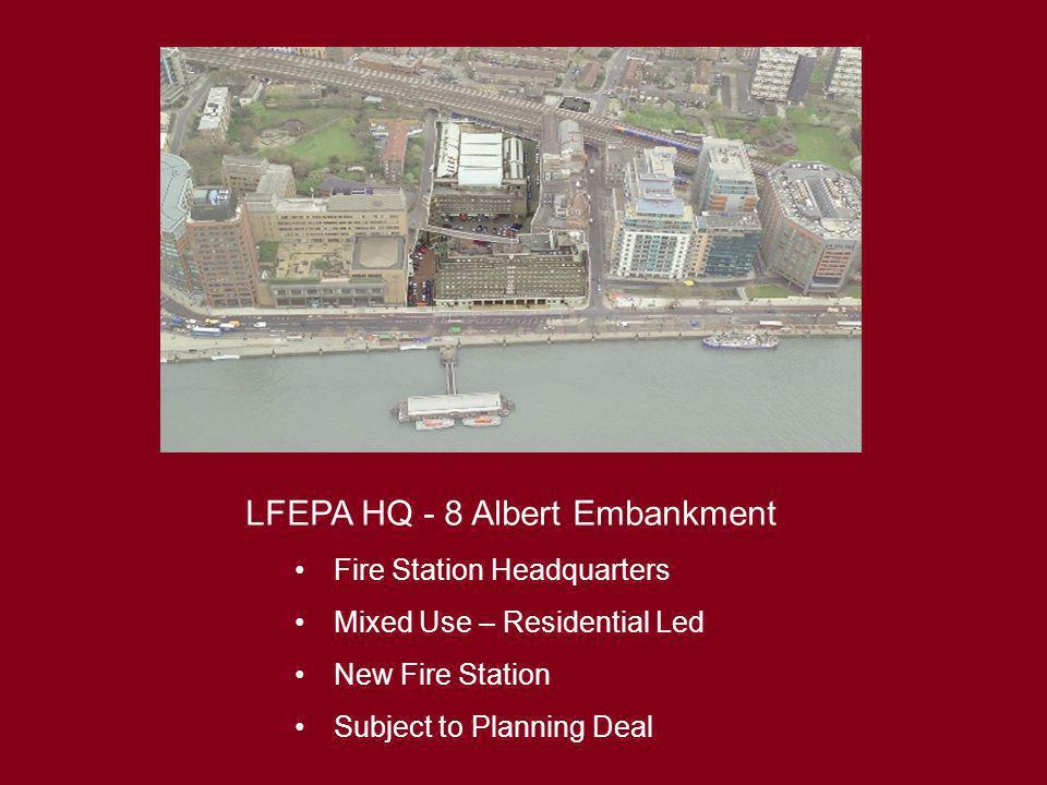 LFEPA HQ - 8 Albert Embankment