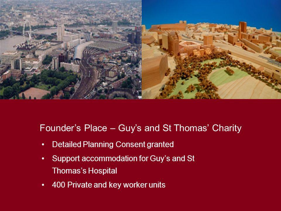 Founder's Place – Guy's and St Thomas' Charity