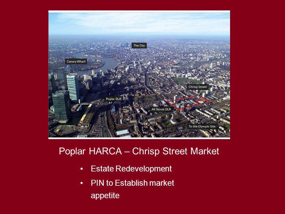 Poplar HARCA – Chrisp Street Market