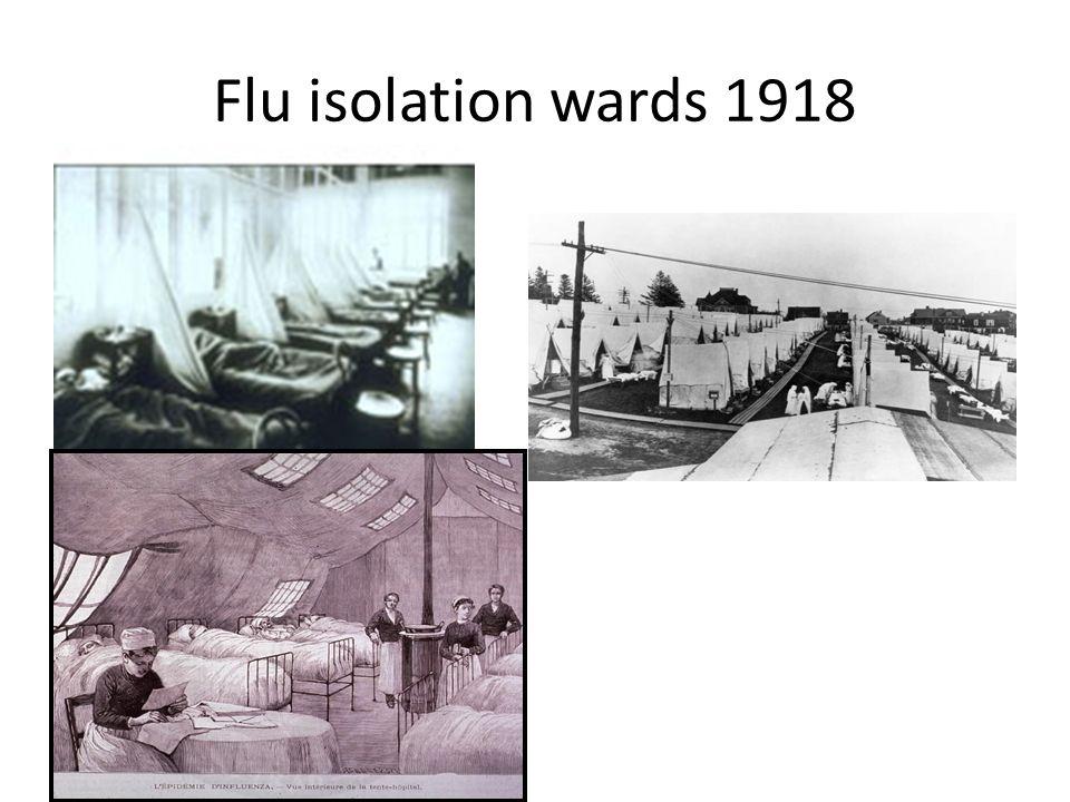 Flu isolation wards 1918